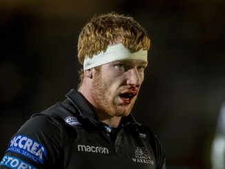Rob Harley will make his 250th appearance for Glasgow Warriors tomorrow night. Image: ©Craig Watson