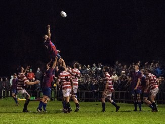 Action from the South versus Caledonia match played in front of a big crowd at Riverside Park in 2016. Image: Steven Rennie