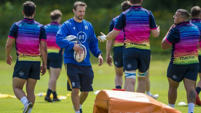 Mike Blair has named the Scotland A team to face England A at Welford Road in Leicester tomorrow. Image: © Craig Watson - www.craigwatson.co.uk