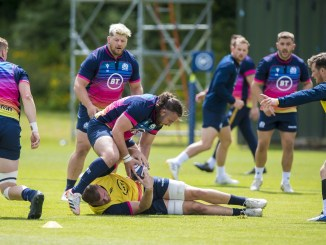 Nine unidentified Scotland players have been ruled out of Sunday's A international against England after a Covid outbreak in the squad. Image: © Craig Watson - www.craigwatson.co.uk