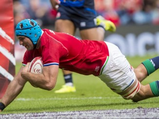 Tadhg Beirne scored two tries for the Lions against the Sharks. Image: © Craig Watson - www.craigwatson.co.uk