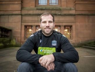 Fraser Brown will co-captain Glasgow Warriors alongside Ryan Wilson again this season. Image: © Craig Watson - www.craigwatson.co.uk