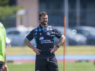 Glasgow Warriors' new attack coach Nigel Carolan says a key part of his job will be to help you players establish themselves at the club. Image: Craig Watson - www.craigwatson.co.uk