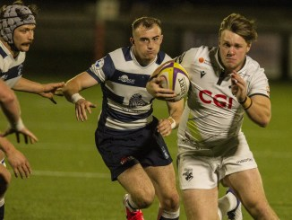 Andrew Mitchell played crucial roles in the lead-up to two of Southern Knights's tries against Heriot's. Image: Bill McBurnie