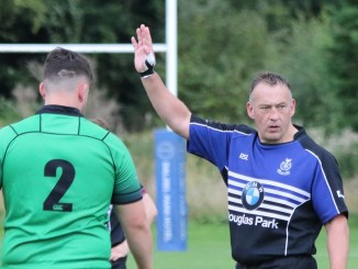 Les Barclay played in his 600th senior match for Dalziel RFC on September 11th.