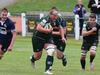 Matty Carryer led from the front as Hawick secured a narrow Border derby win over Selkirk. Image: Malcolm Grant