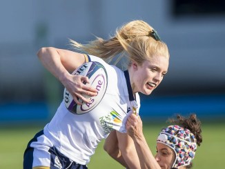 Megan Gaffney scored Scotland's second try. Image: © Craig Watson - www.craigwatson.co.uk