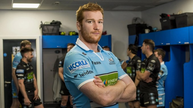 Glasgow Warriors record appearance holder Rob Harley is a client of McCrea Financial Services. Image: © Craig Watson - www.craigwatson.co.uk