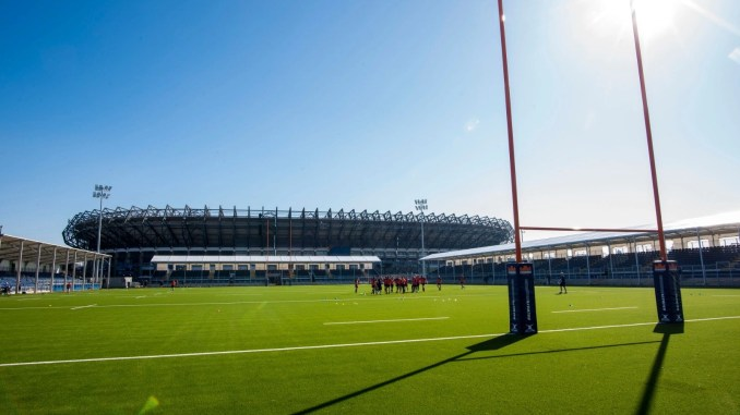 The recently rebranded DAM Health Stadium will host this year's Super6 Final. Image: Craig Watson