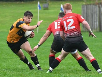 Currie Chieftains edged a tight contest at Malleny Park. Image: Ian Gidney