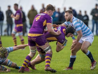 Marr stayed top of the Premiership table with a bonus-point home win over Edinburgh Accies. Image: ©Craig Watson - www.craigwatson.co.uk