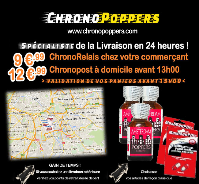 Achat poppers rapide