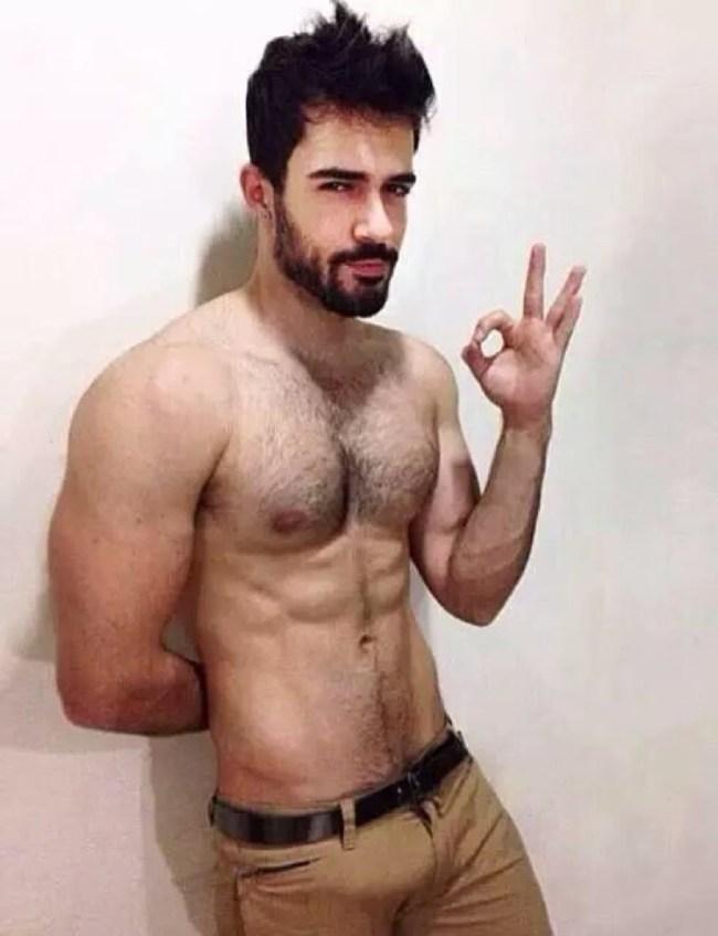 gros penis de gay gay brun poilu