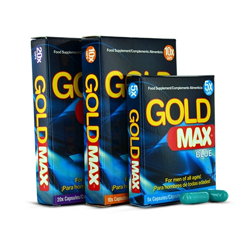 gold max pour bander