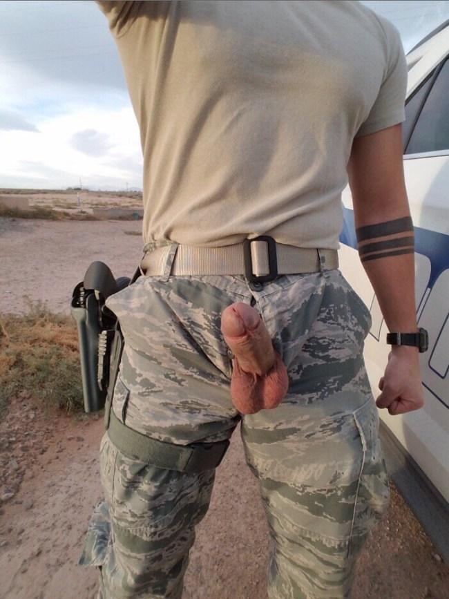 militaire gros sexe