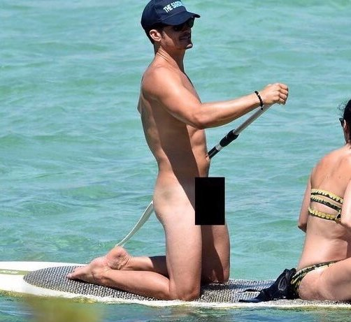 Orlando Bloom nu sexe non visible