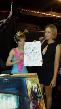 Caricatures for Ruby's Birthday Party