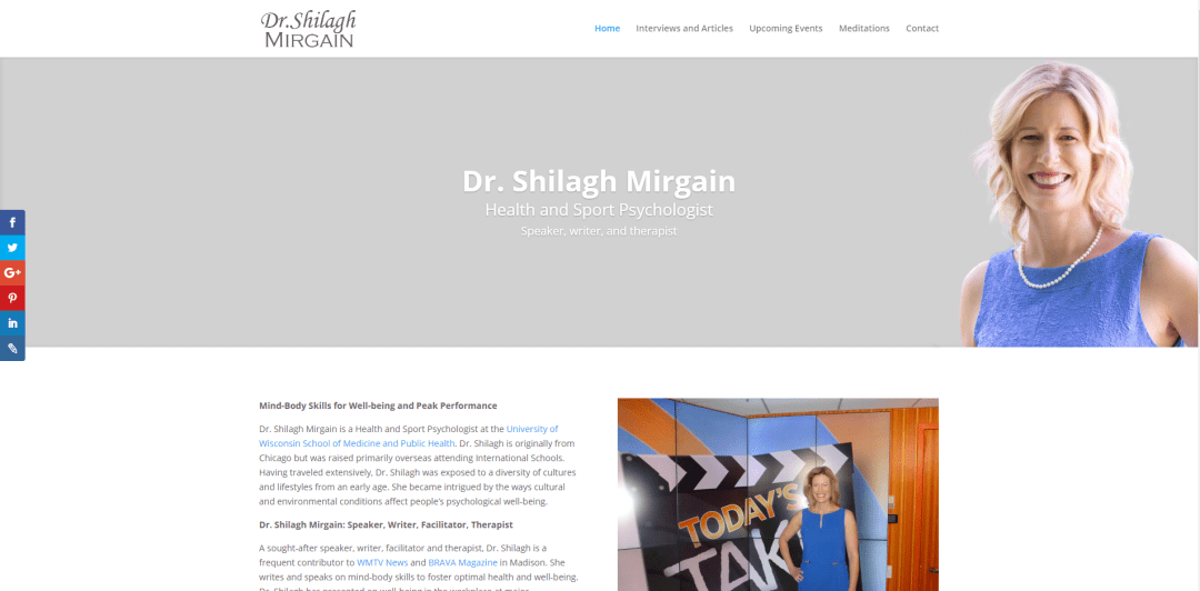Mindfulness Consultant Website