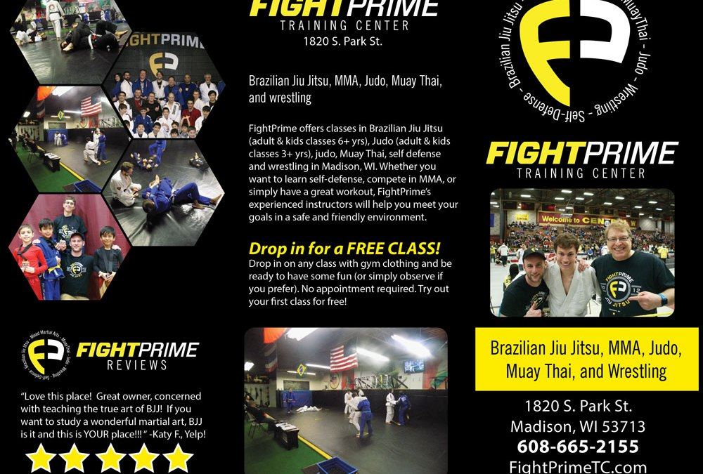 Fight Prime Brochure
