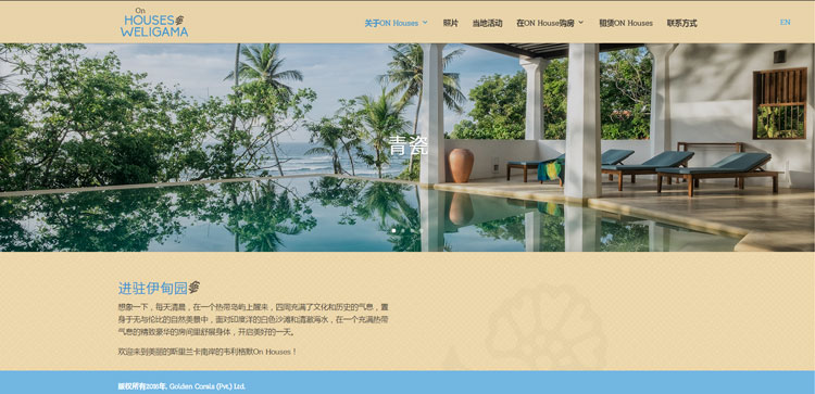 International Real Estate Website