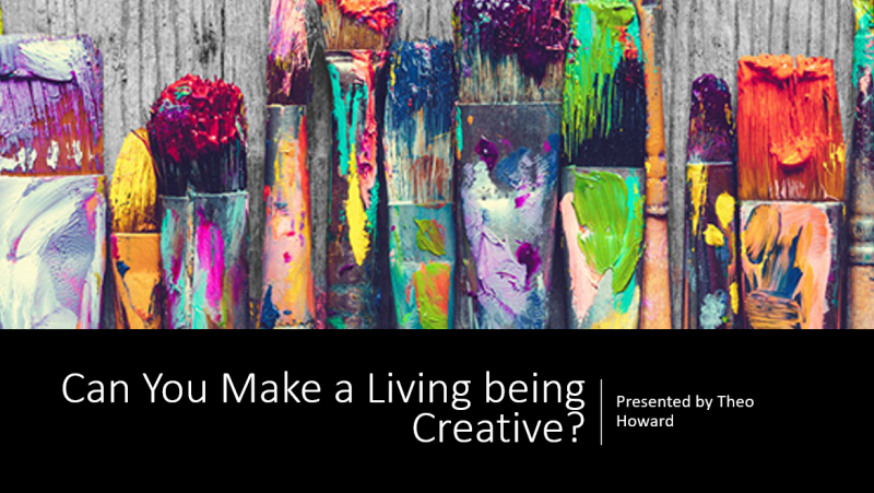 Can You Make a Living being Creative? Theo Presents at the American Family Dreambank