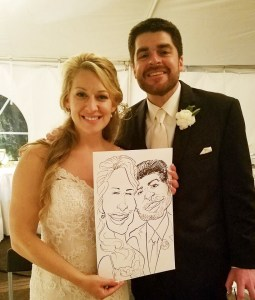 Hire a Caricature Artist for a Wedding