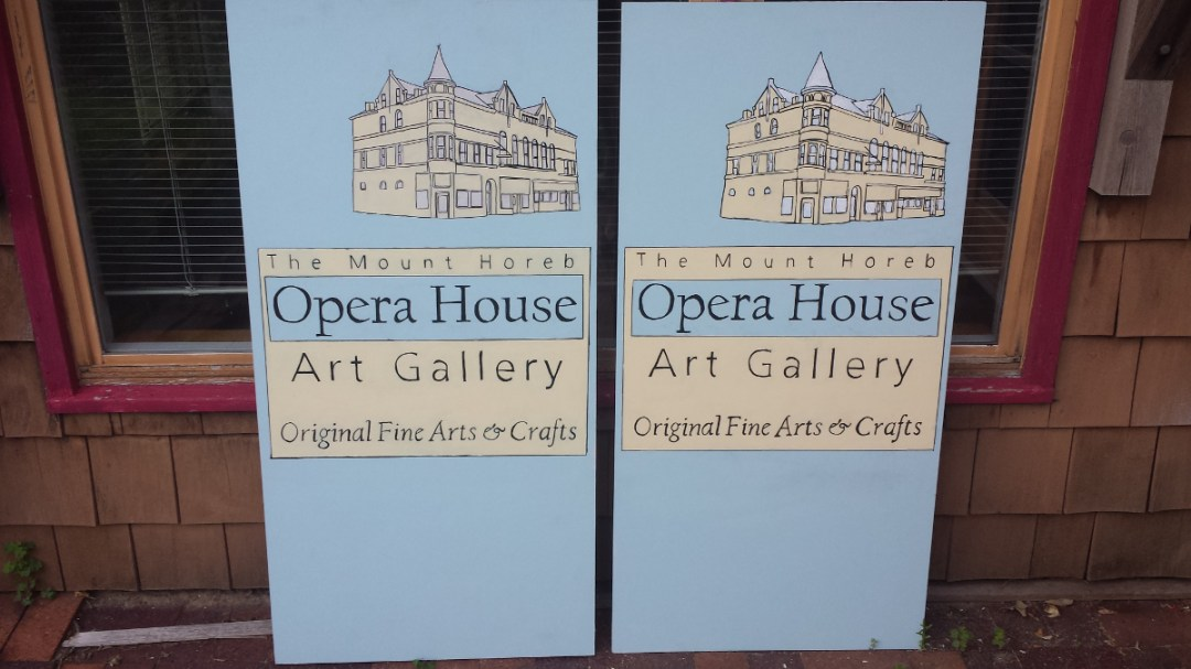 Business Card for the Opera House Art Gallery - Theo Howard\'s ...