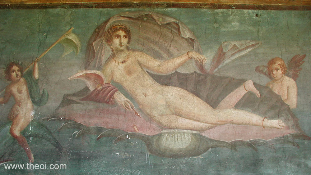 Hesiod derives Aphrodite from aphrós