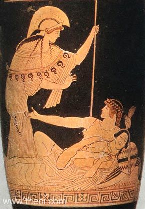 Image result for Ariadne and Theseus ancient