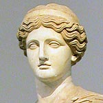 Cult of Demeter | Bust of statue of Demeter restored as Flora Farnese