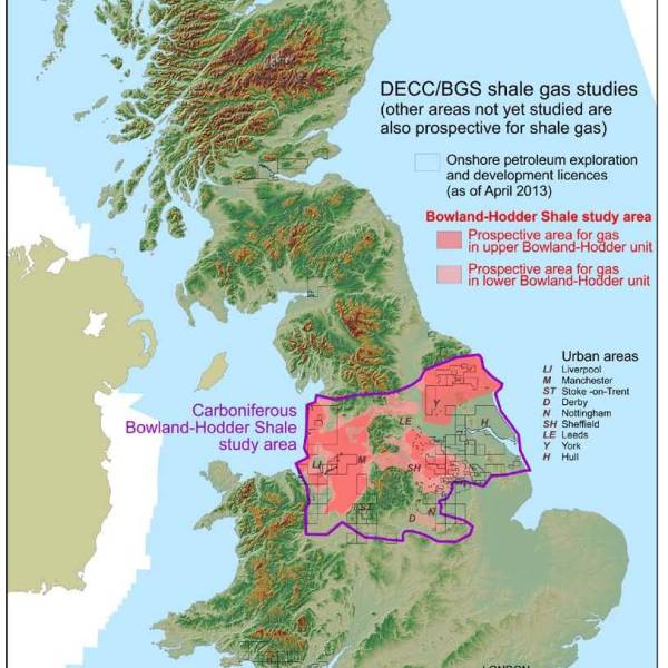 British Geological Survey Bowland Shale Gas Assessment