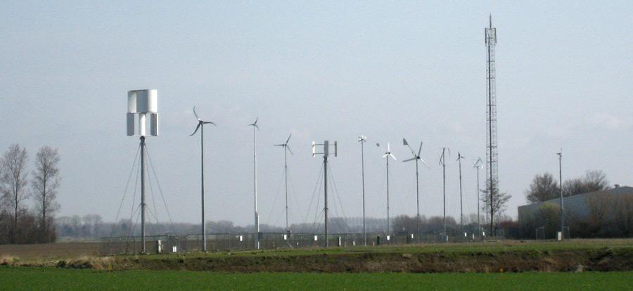 Small Wind Turbines on test