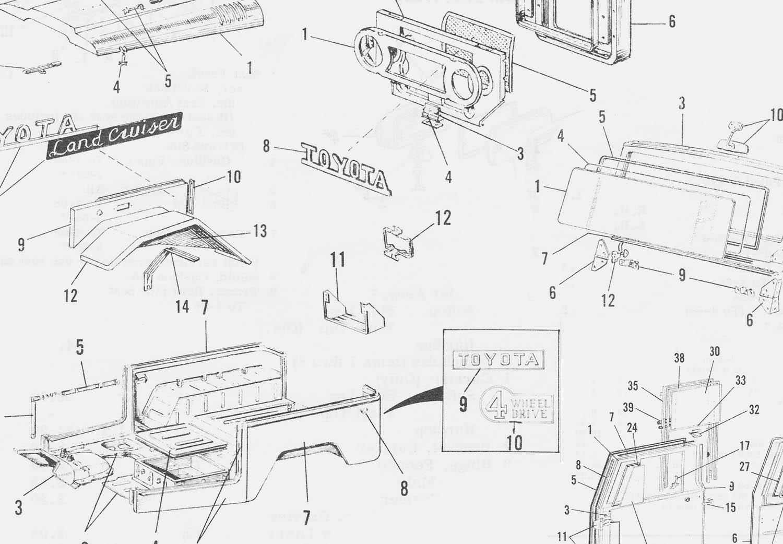 Toyota Land Cruiser Parts Catalogs