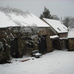 Winter courtyard 2