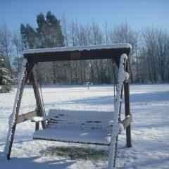 Winter on the swing