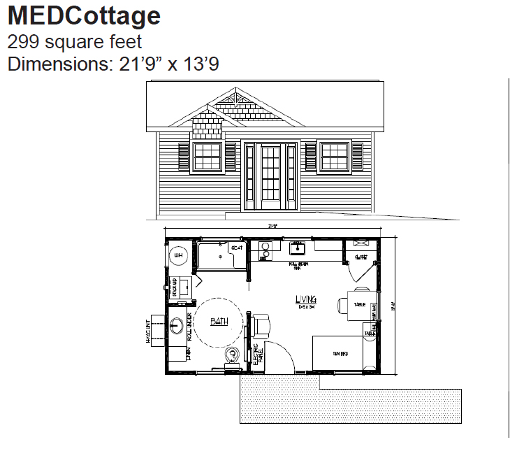 Guest House Addition Plans