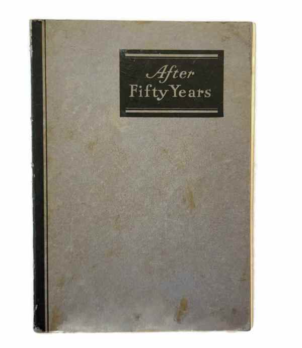 After Fifty Years 1882 1932 F & F Nurseries Springfield NJ Princeton Plant Guide