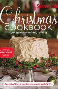 Christmas Cookbook with Southern Living Year Round Celebration Dillard's Special Edition Hardcover