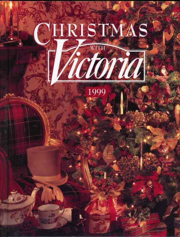 Christmas With Victoria 1999 Magazine Annual Holiday Decorations Gifts Entertaining Hardcover