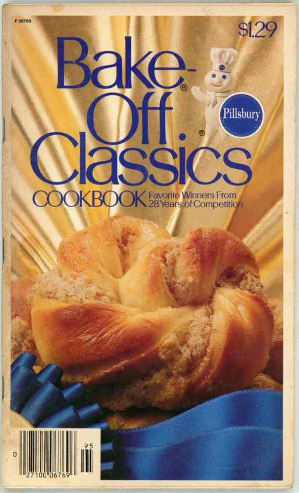 Pillsbury Bake Off Classics Volume 1 Vintage Baking Cookbook 28 Years of Contests 1979