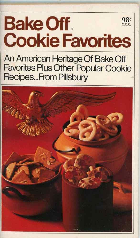Pillsbury Bake Off Cookie Favorites Cookbook Popular Mid Century Recipes1969