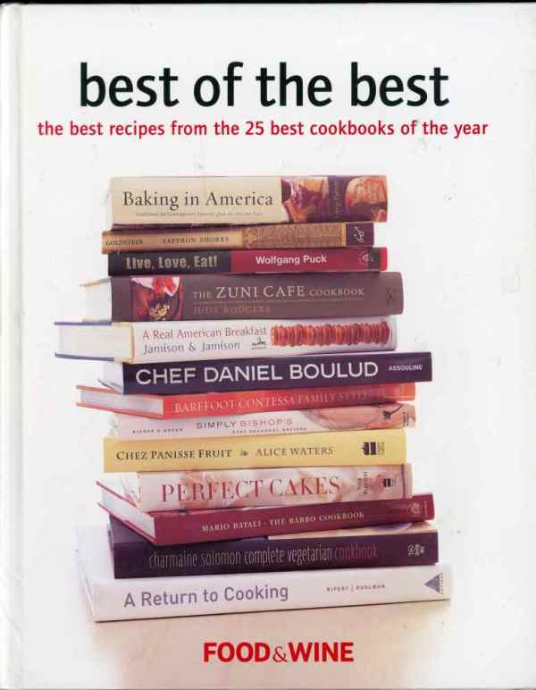 The Best of The Best Cookbooks Food & Wine Top 25 of the Year 2003 6th Edition Hardcover