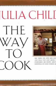 The Way To Cook Cookbook Julia Child 1989 First Edition Hardcover Vintage Huge Photos