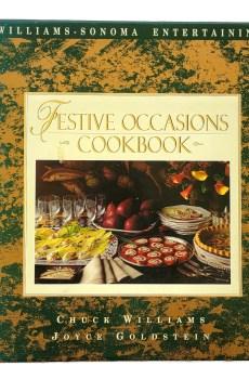 Williams Sonoma Festive Occasions Cookbook Entertaining Parties Huge Hardcover