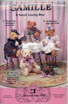 Gooseberry Hill Camille A French Country Bear Kit Vintage 1989 Teddy Bear