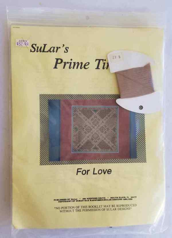 SuLar's Prime Time Designs For Love Needlepoint Kit Complete Needlework 1992 New