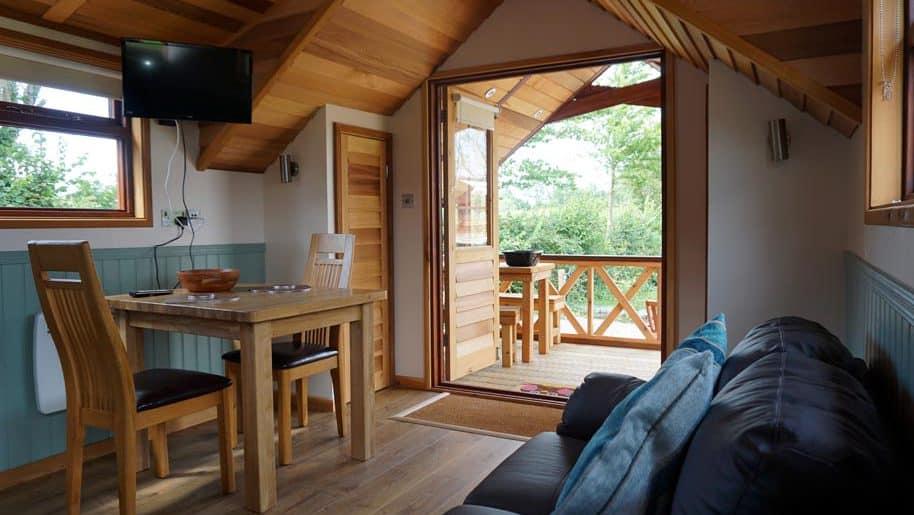 Luxury Glamping Accommodation Somerset Cedar Lodges