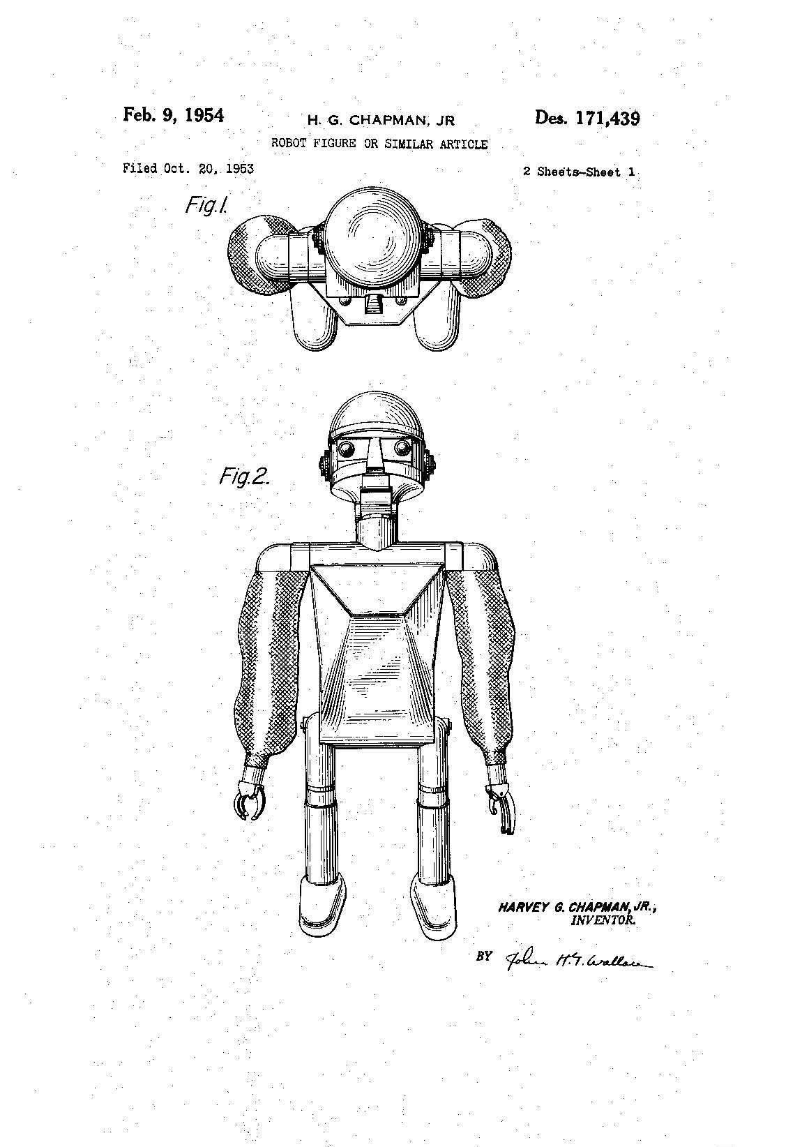 Garco Robot Harvey G Chapman Jr
