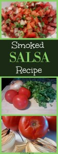 This Salsa Recipe is not your usual..the ingredients are first Smoked which gives this salsa an upper hand at your next BBQ! Everyone will love the unique flavor in this Summer Favorite!