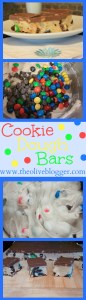 Cookie Dough Bars with M&M's